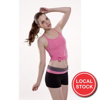 Local Stock - Harmony Fitness Shorts- Ladies