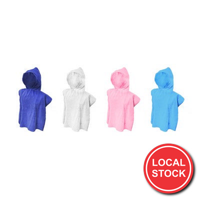 Local Stock - Kids Hooded Towel