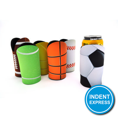 Indent Express - Sublimated Sports Ball Cooler With Base
