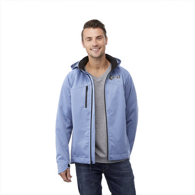BERGAMO Softshell Jacket - Mens (TM12906_ELE)