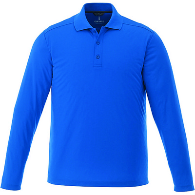 Mori Long Sleeve Polo - Mens - (printed with 1 colour(s)) TM16255_ELE