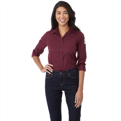 WILSHIRE Long Sleeve Shirt - Womens - (printed with 1 colour(s)) TM97744_ELE