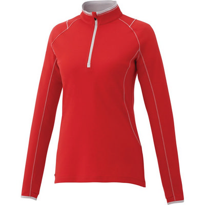 KNEW Knit Half Zip - Womens - (printed with 1 colour(s)) TM97809_ELE