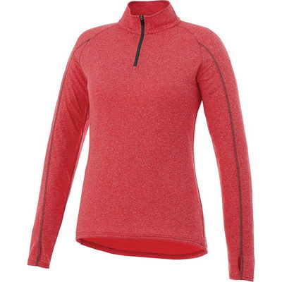 TAZA Knit Quarter Zip - Womens - (printed with 1 colour(s)) TM97810_ELE