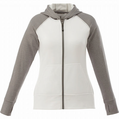 ANSHI Knit Fzip Hoody - Womens - (printed with 1 colour(s)) TM98131_ELE