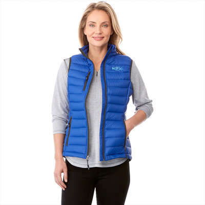 WHISTLER Light Down Vest - Womens - (printed with 1 colour(s)) TM99898_ELE