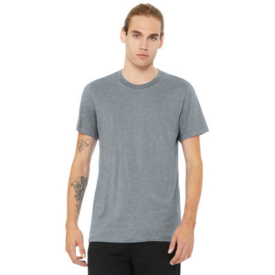 BELLA+CANVAS  Unisex Heather CVC Short Sleeve Tee. BC3001CVC (BC3001CVC_ENT)