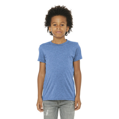 BELLA+CANVAS Youth Triblend Short Sleeve Tee. BC3413Y (BC3413Y_ENT)