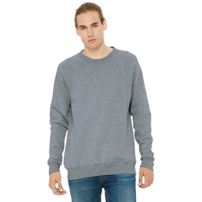 BELLA+CANVAS  Unisex Sponge Fleece Raglan Sweatshirt. BC3901 (BC3901_ENT)