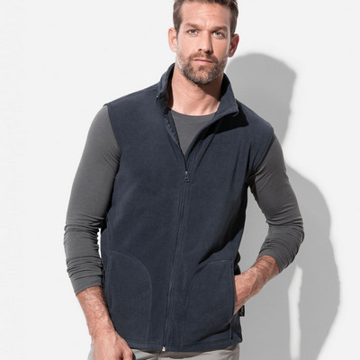 Mens Active Fleece Vest