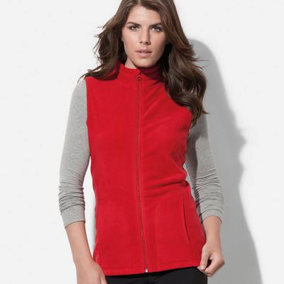 Womens Active Fleece Vest