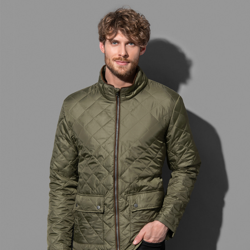 Mens Active Quilted Jacket
