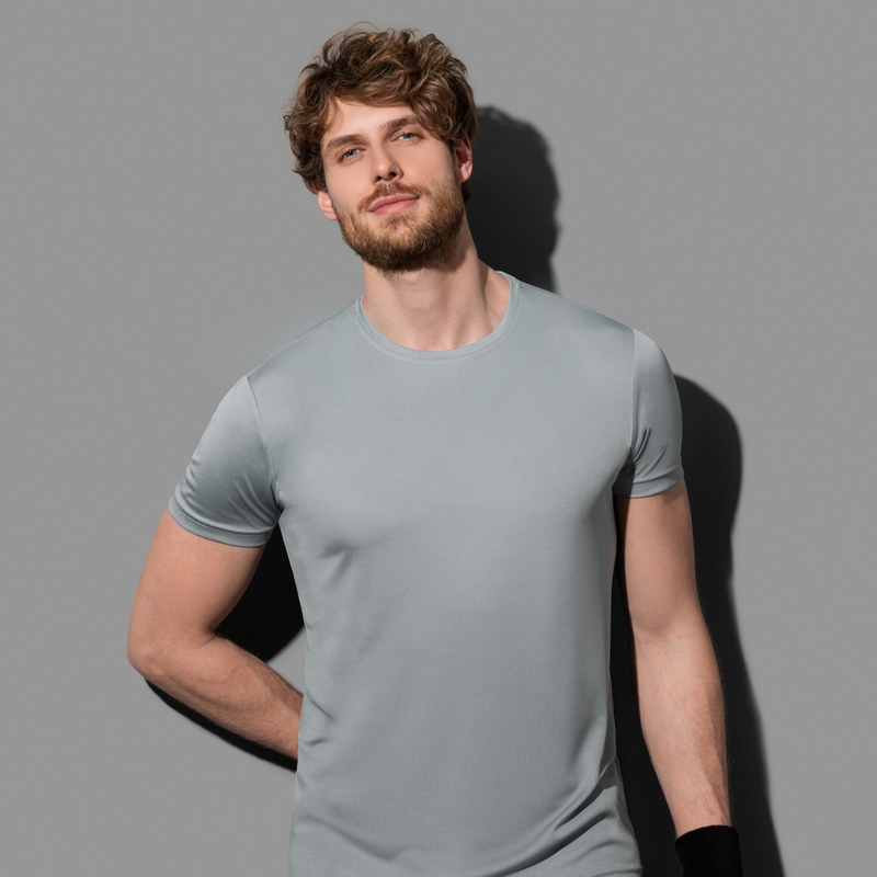 Mens Active Sports-T (ST8000_LEGEND)
