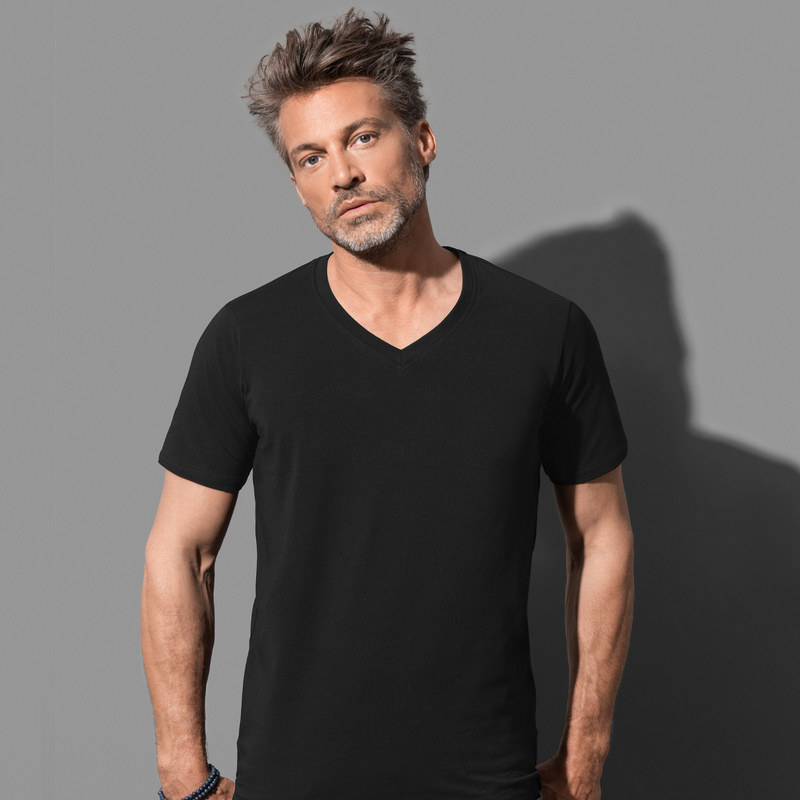 Mens Dean Deep V-neck (ST9690_LEGEND)