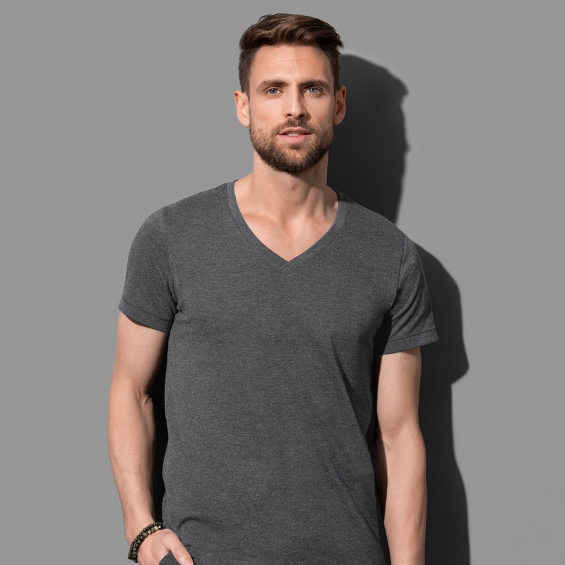 Mens Luke V-neck (ST9810_LEGEND)