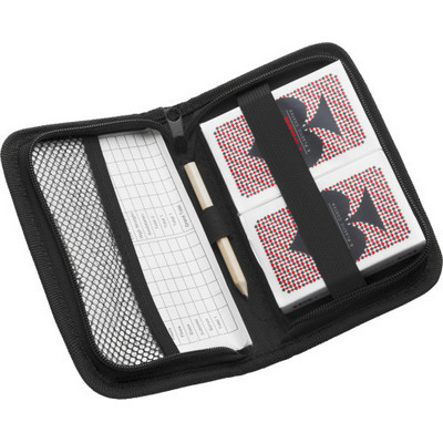 Nylon wallet with playing cards (2326_EUB)