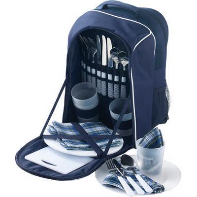 Polyester (600D) picnic rucksack (2645_EUB)