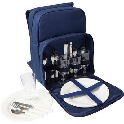 Polyester (600D) picnic rucksack (7609_EUB)