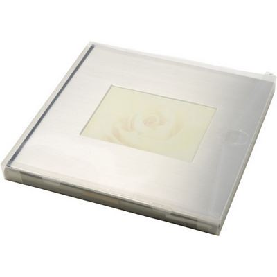 Luxurious photo album with stainless steel cover (2884_EUB)