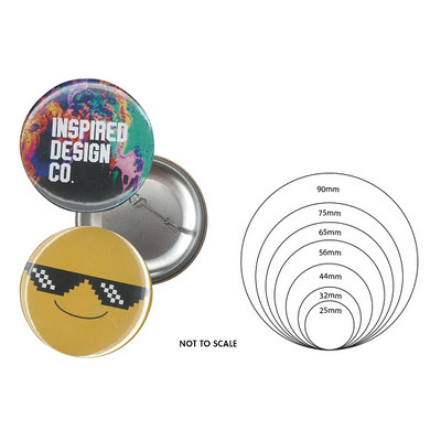 65mm Button Badge