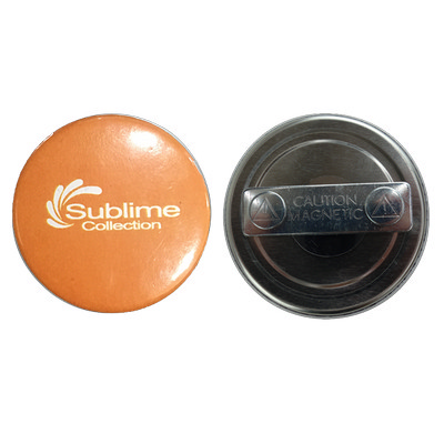 58mm Button Badge Magnet Clip