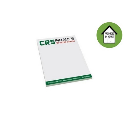 Note Pads - (printed with 4 colour(s)) NP100_EZI