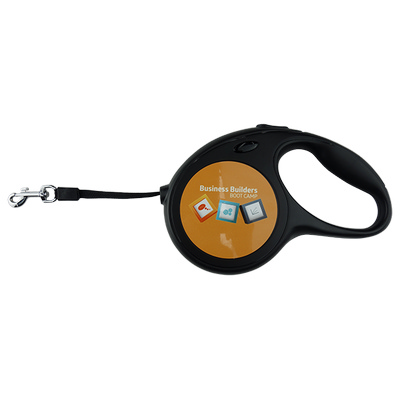 Dog Lead Hard Plastic Retractable with Sublimated Discs (DL001_EZI)
