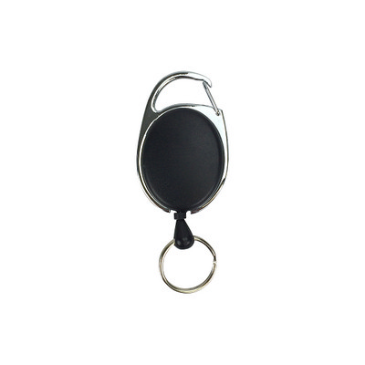 Deluxe Oval Reel with Keyring Unprinted