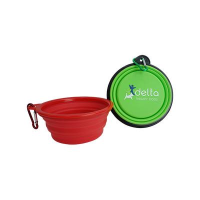 Silicone Foldable Pet Bowls - (printed with 1 colour(s)) GP031_EZI