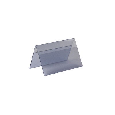 Table Tents Flexible Small with Blank Inserts