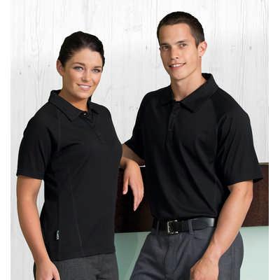 Merino Short Sleeve Polo - Mens