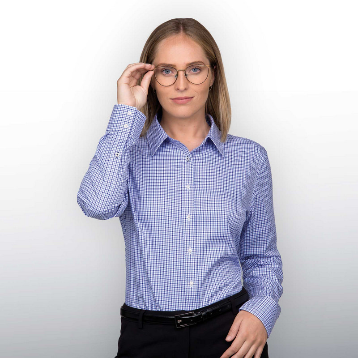 Barkers Stamford Check Shirt  Womens