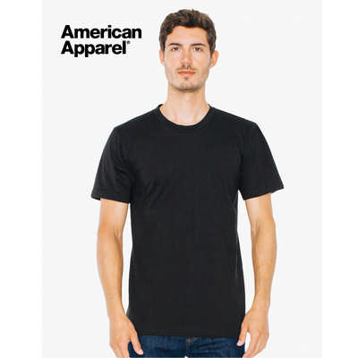 American Apparel Unisex Organic T-Shirt Colours