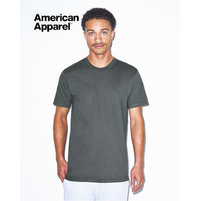American Apparel Unisex Fine Jersey Short Sleeve Tee Colours