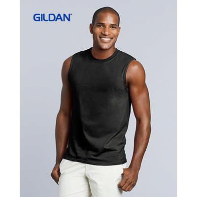 Gildan Ultra Cotton Adult Sleeveless T-Shirt Colours