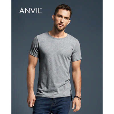 Anvil Adult Lightweight Long and Lean Tee Colours