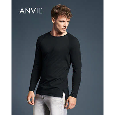 Anvil Adult Lightweight Long and Lean Long Sleeve Tee Colours