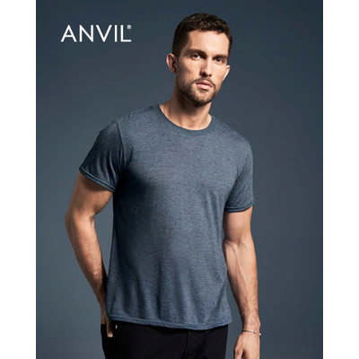 Anvil Adult Tri-Blend Tee Colours