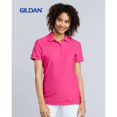 Gildan Premium Cotton Ladies Double Pique Sport Shirt Colours