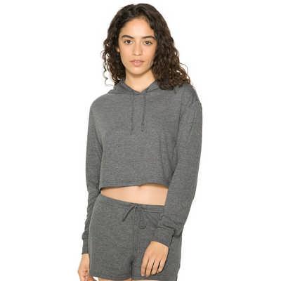 American Apparel Womens Tri-Blend Cropped Hoodie Colours (RSATR3353W_COL_GILD)