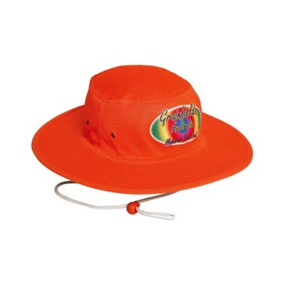 Luminescent Safety Hat With Toggle