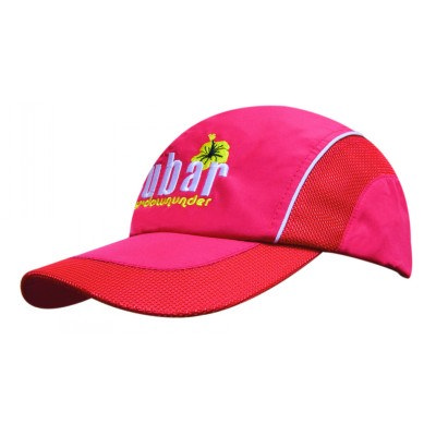 Spring Woven Fabric Cap wit