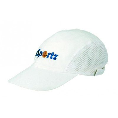 Cotton Sports Cap With Mesh