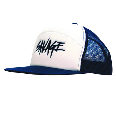6 Panel A Frame Foam Front Cap with Mesh