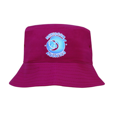 Childs Breathable P/Twill Bucket Hat