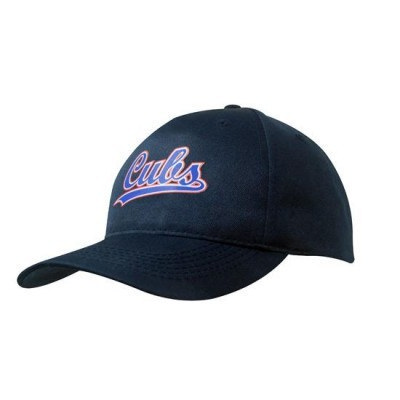 5PNL Breathable Poly/Twill Cap (No Front Seam)