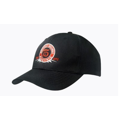 6PNL Breathable Poly/Twill Cap