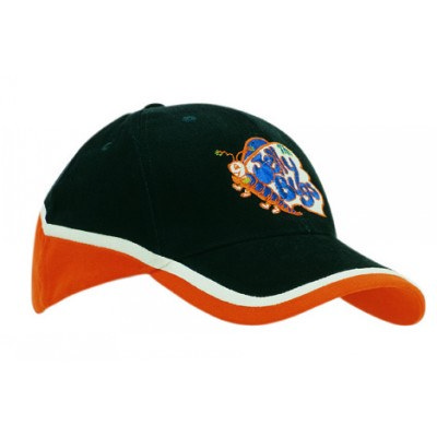 6PNL Brushed Heaqvy Cotton Tri-Coloured Cap