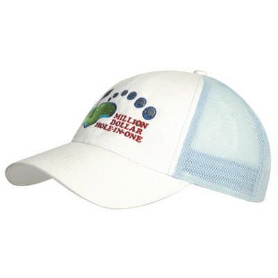 6PNL Brushed Cotton Mesh Back Cap