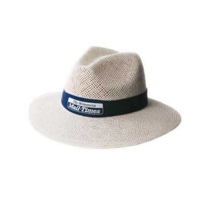 White Madrid String Straw hat